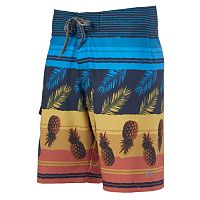 Men's Ocean Current Colada Pineapple Board Shorts