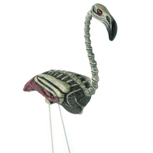 Zombie Flamingo Halloween Décor