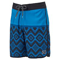 Men's Ocean Current Strength Ombre Board Shorts