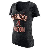 Women's Nike Arizona Diamondbacks Local Tri-Blend Tee