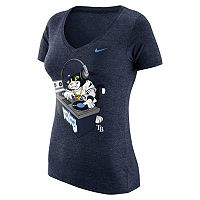 Women's Nike Tampa Bay Rays Local Tri-Blend Tee