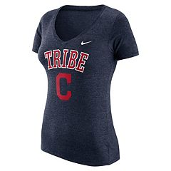 Women's Nike Cleveland Indians Local Tri-Blend Tee