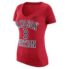 Women's Nike Boston Red Sox Local Tri-Blend Tee