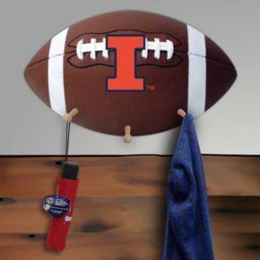 Illinois Fighting Illini Football Coat Hanger