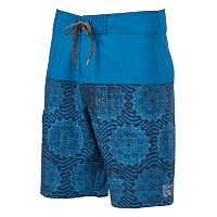 Men's Ocean Current Symbols Board Shorts