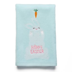 Celebrate Together Carrot Bunny Hand Towel