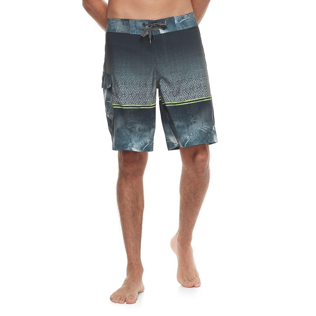 Men's Ocean Current Kendrick Ombre Stretch Board Shorts