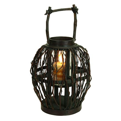 Bamboo Candle Lantern