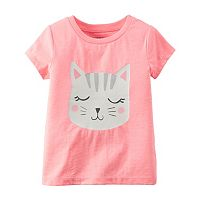 Baby Girl Carter's Girly Graphic Short Sleeve Tee
