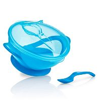 Nuby Easy-Go Suction Bowl & Spoon Set