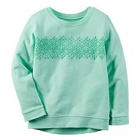 Baby Girl Carter's Lace Applique Pullover Top