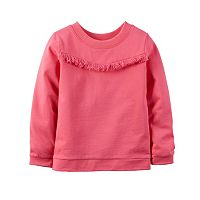 Baby Girl Carter's Fringe Long Sleeve Top