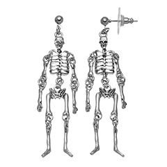 Skeleton Halloween Earrings