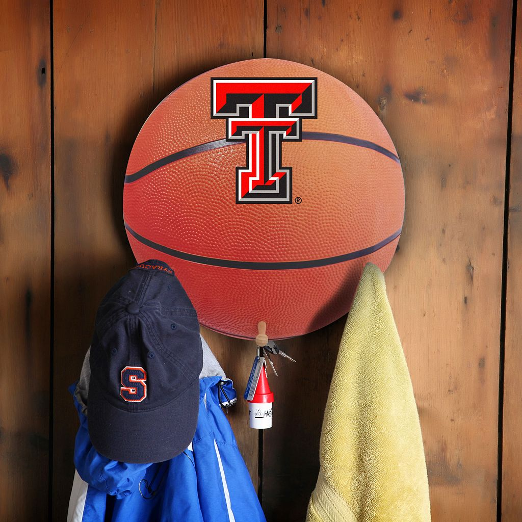 Texas Tech Red Raiders Basketball Coat Hanger