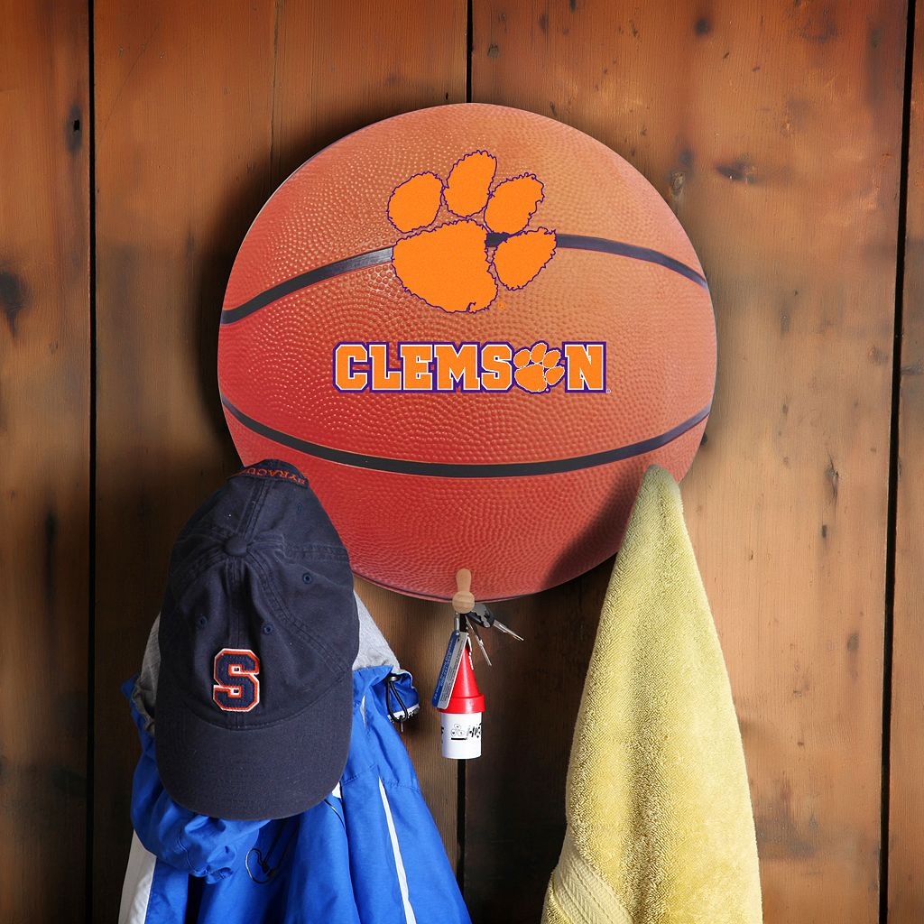 Clemson Tigers Basketball Coat Hanger