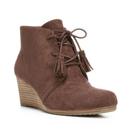 Scholl's Dakota Women's Wedge Ankle Boots