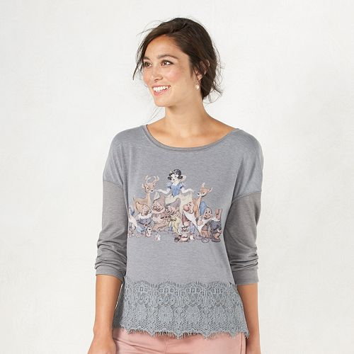 Disney's Snow White A Collection by LC Lauren Conrad Graphic Top - Women's