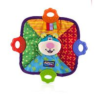 Nuby Plush Animal Teething Blankie