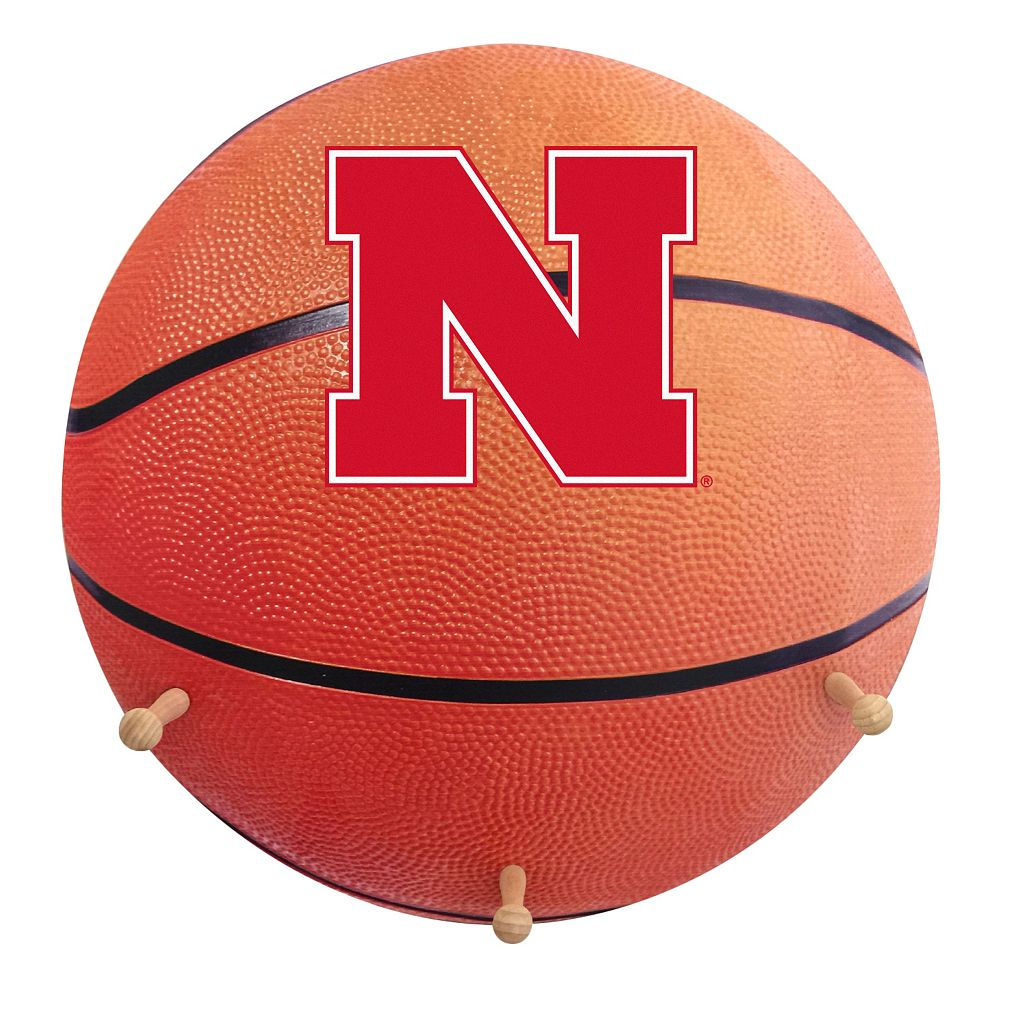 Nebraska Cornhuskers Basketball Coat Hanger