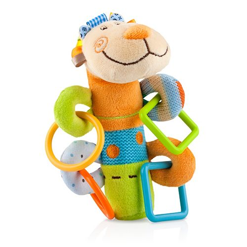 Nuby Squeeze n' Squeak Plush Toy