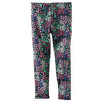Baby Girl Carter's Patterned Full-Length Leggings