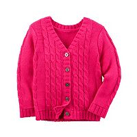 Baby Girl Carter's Textured Cardigan