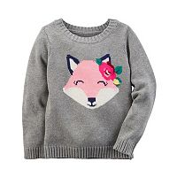 Baby Girl Carter's Animal Sweater