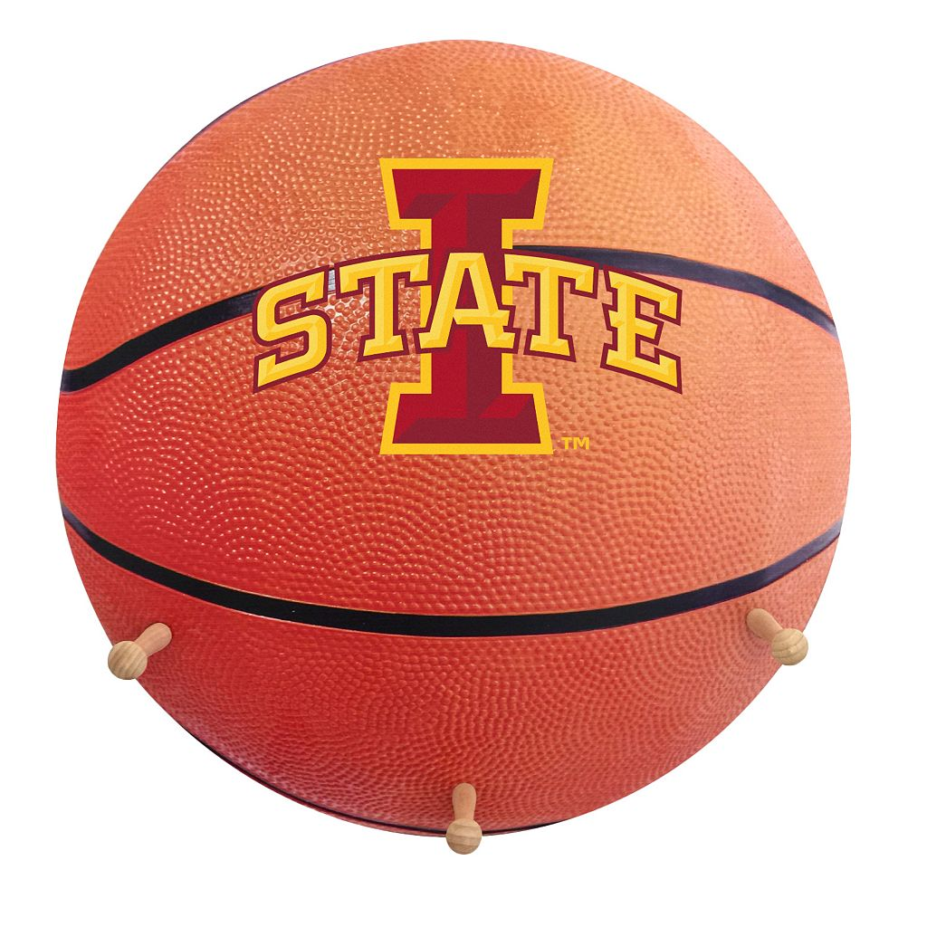 Iowa State Cyclones Basketball Coat Hanger