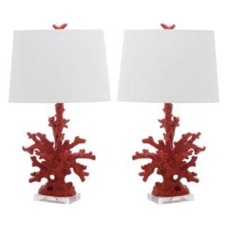 Safavieh Coral Branch Table Lamp 2-piece Set