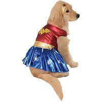 Pet DC Comics Wonder Woman Deluxe Costume