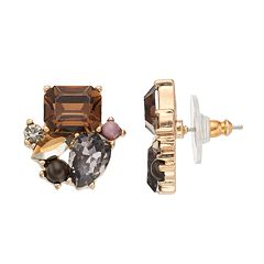 Simply Vera Vera Wang Geometric Cluster Stud Earrings