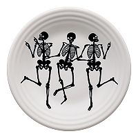 Fiesta Trio Of Skeletons 9-in. Luncheon Plate