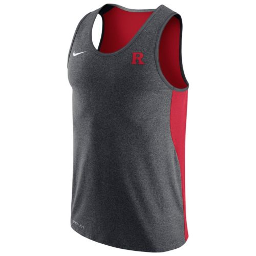 Men's Nike Rutgers Scarlet Knights Dri-FIT Touch Tank Top