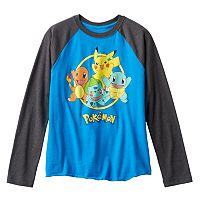 Boys 8-20 Pokemon Starter Circle Tee