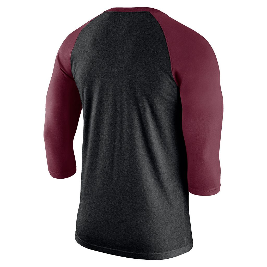 Men's Nike Alabama Crimson Tide Tri-Blend Raglan Tee