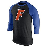 Men's Nike Florida Gators Tri-Blend Raglan Tee