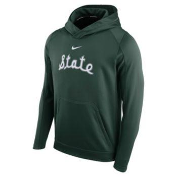Men's Nike Michigan State Spartans Therma-FIT Circuit Hoodie