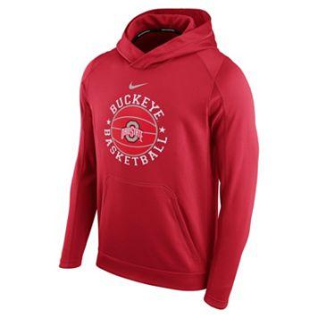 Men's Nike Ohio State Buckeyes Therma-FIT Circuit Hoodie