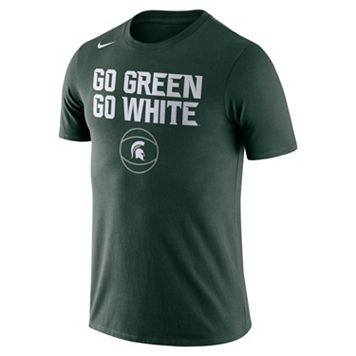 Men's Nike Michigan State Spartans Basketball Local Tee