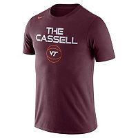 Men's Nike Virginia Tech Hokies Basketball Local Tee
