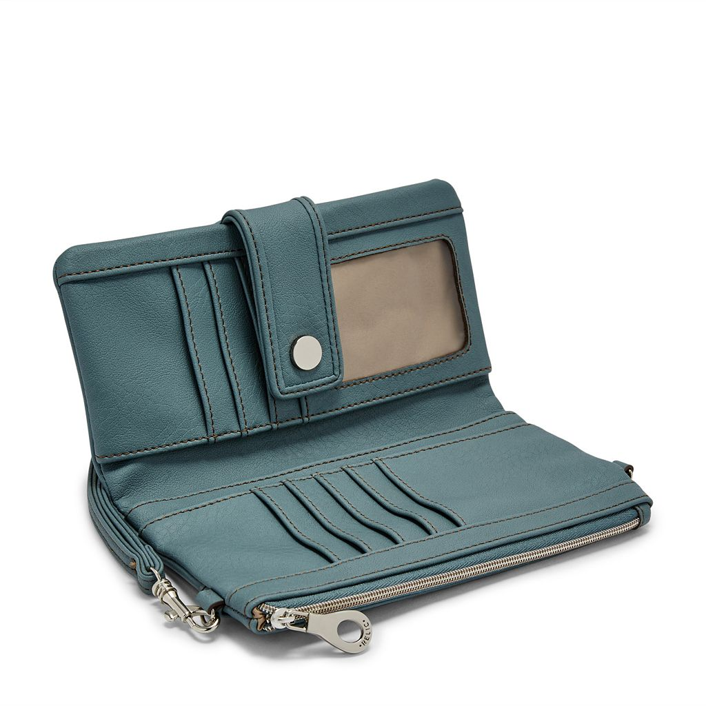 Relic Vicky Convertible Checkbook Wallet