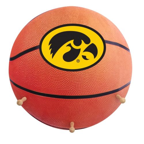 Iowa Hawkeyes Basketball Coat Hanger