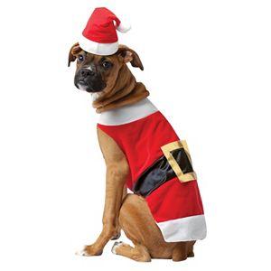 Pet Santa Dog Costume