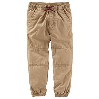 Boys 4-8 OshKosh B'gosh® Canvas Jogger Pants