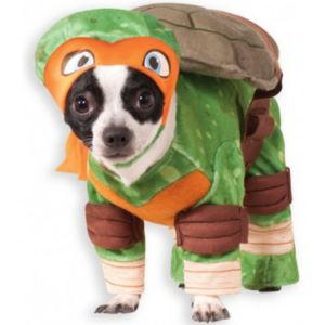 Pet Teenage Mutant Ninja Turtles Michelangelo Costume