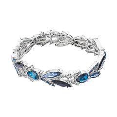 Simply Vera Vera Wang Blue Teardrop & Marquise Stretch Bracelet