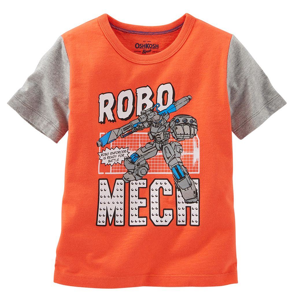 Boys 4-8 OshKosh B'gosh® Short Sleeve Comic Book Graphic Tee