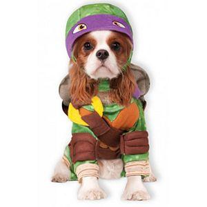 Pet Teenage Mutant Ninja Turtles Donatello Costume