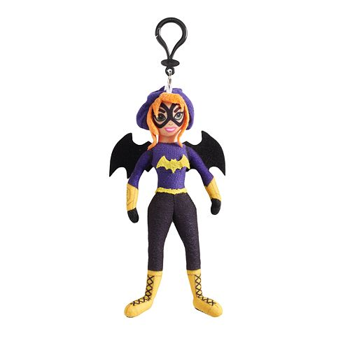 DC Comics DC Super Hero Girls Batgirl Plush Keychain