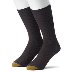 Men's GOLDTOE Non-Binding Microfiber Dress Socks